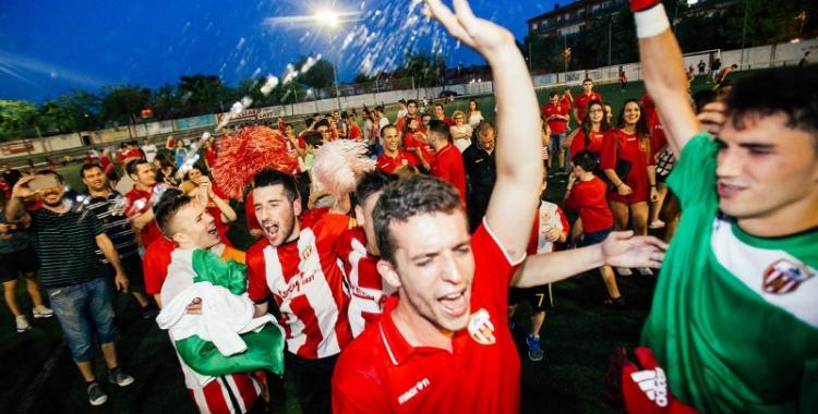 Alegria castellarenca dissabte passat al Pepín Valls | Quim Pascual (L'Actual)