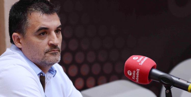 Jose García el passat dijous a Ràdio Sabadell   Roger Benet