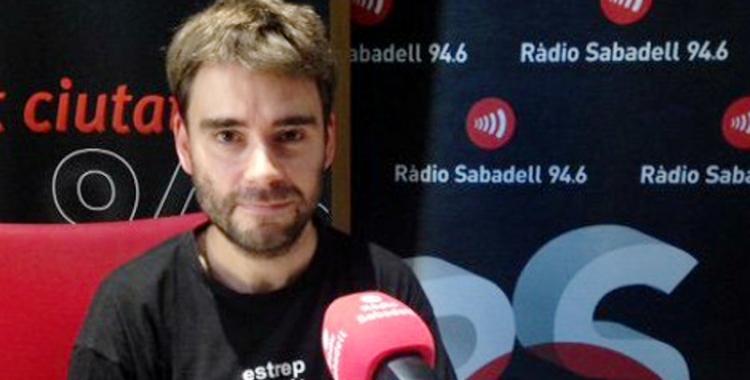 David Vila és col·laborador habitual de Ràdio Sabadell