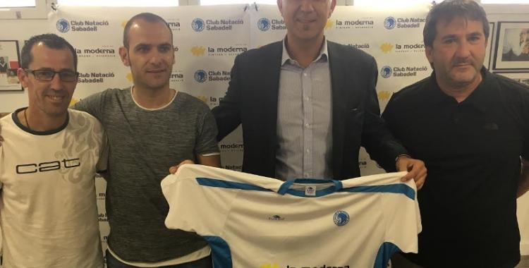 Dani Salgado, presentat com a nou jugador del CNS