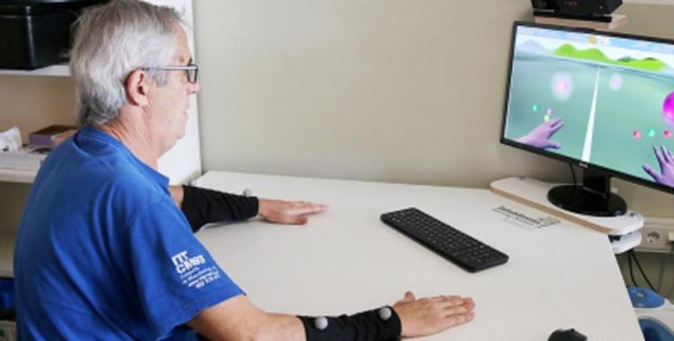 El Taulí introdueix la realitat virtual en el tractament de pacients amb dany cerebral
