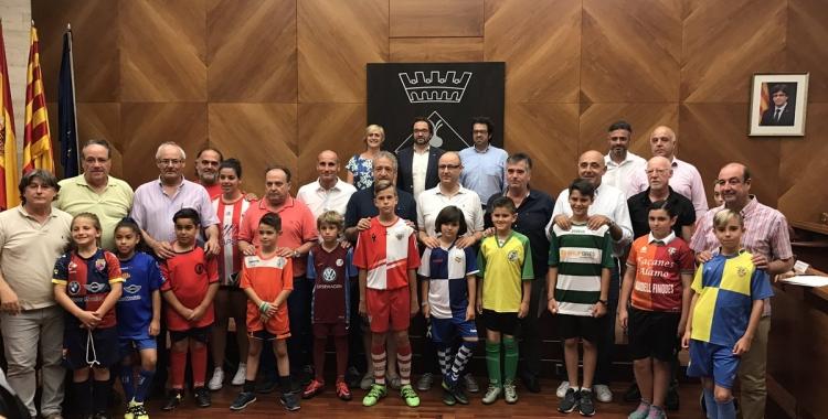 Tots els clubs de la ciutat han estat representats a l'acte   SBD Esport