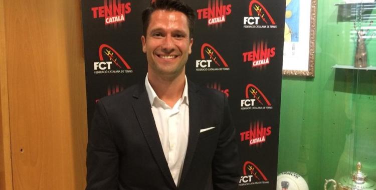Jordi Tamayo presidirà el tennis català els pròxims anys   FCT