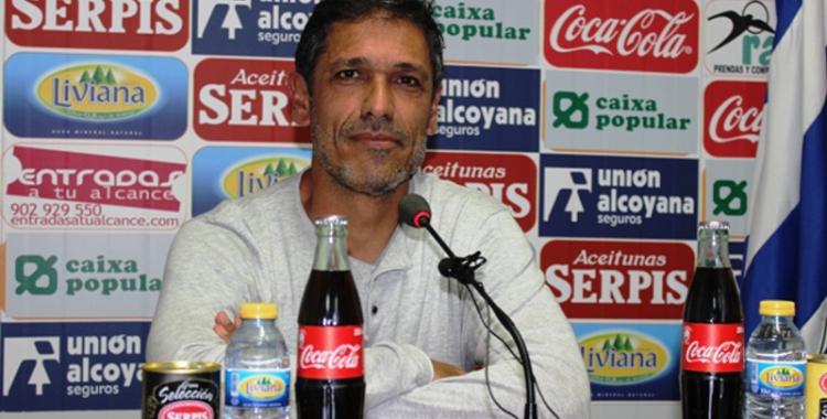Seligrat ha dirigit l'Alcoyano aquesta última temporada   SER Alcoy