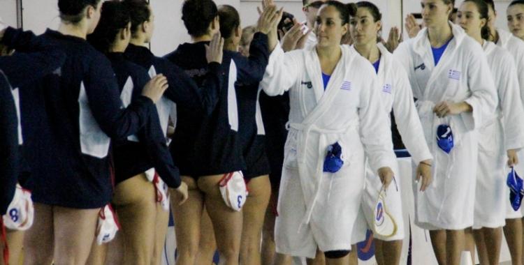 Espanya-Grècia de Lliga Mundial jugat la temporada passada a Can Llong | Jesús Arroyo