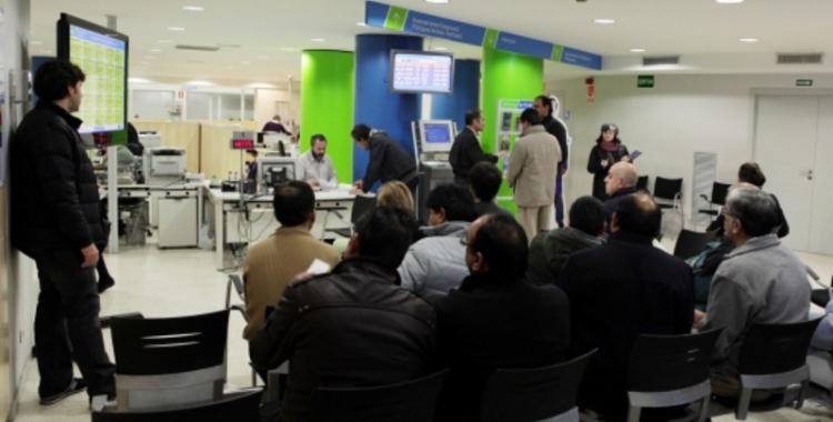 Imatge de les oficines del SOC a Sabadell