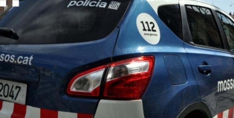 Cotxe del cos de Mossos d'Esquadra. Foto: Mossos d'Esquadra