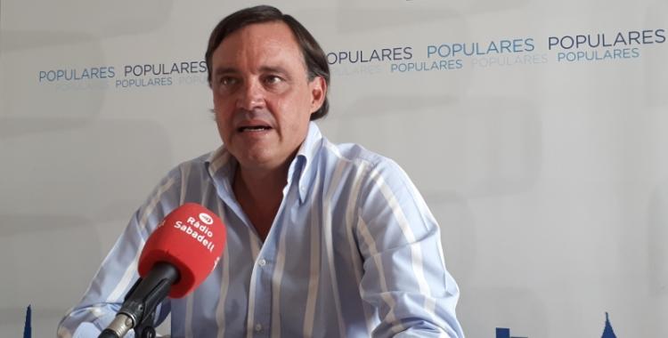 Esteban Gesa ha lamentat la situació actual del govern de Sabadell/ Karen Madrid