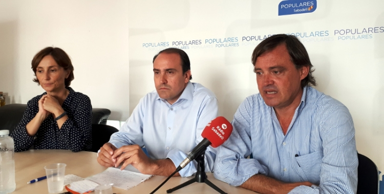 Gesa i Serrano han abordat avui la situació de Catalunya/ Karen Madrid