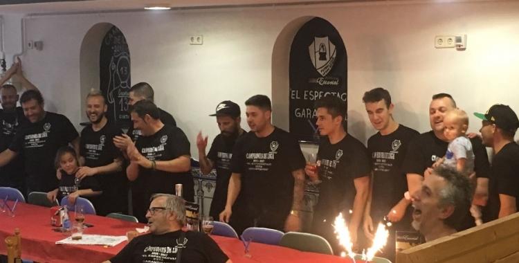 El conjunt sabadellenc ha celebrat l'ascens aquesta temporada | Sergi Garcés