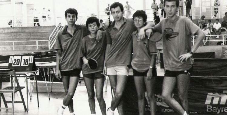 Els germans Weisz en els seus inicis al 1987
