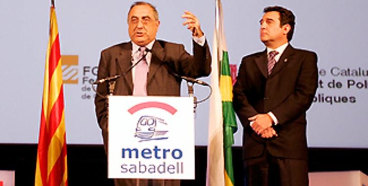 Joaquim Nadal i Manuel Bustos | Arxiu