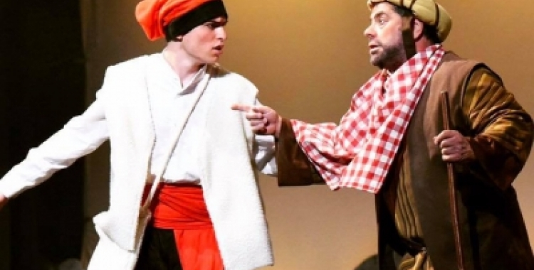 Els Pastorets al Teatre Sant Vicenç. Foto: Ràdio Sabadell
