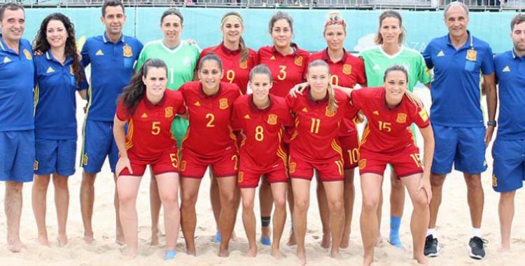 Equip espanyol que ha disputat aquest cap de setmana l'Eurocopa a Portugal | RFEF