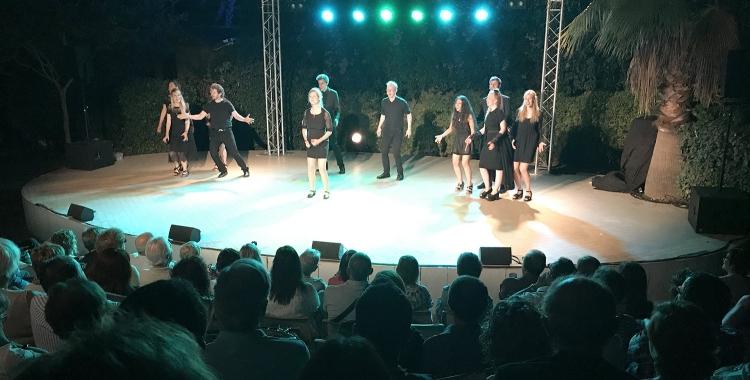 El cor danès Dopplers va ser el darrer en actuar al Fresc Festival