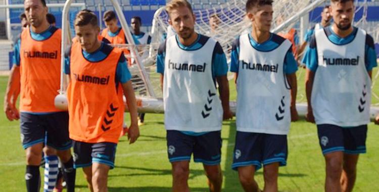 Ángel ja s'ha entrenat avui amb el Sabadell | CES