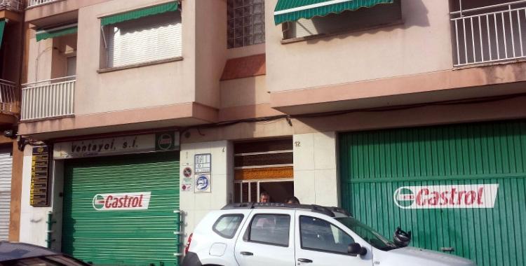 Imatge del bloc de pisos on ha tingut lloc el succés