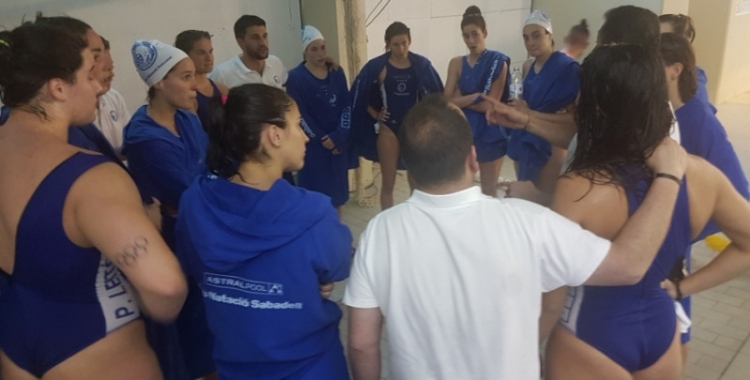 L'equip femení de waterpolo del Club patirà alguns canvis la pròxima temporada