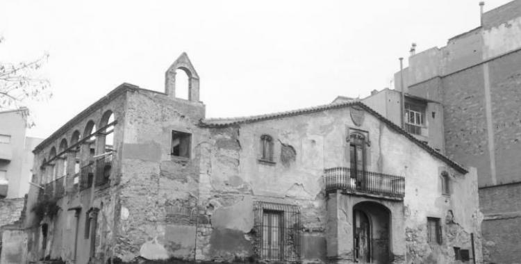 La Masia de Ca n'Oriac en una imatge d'arxiu