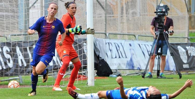 Mariajo Pons, en una acció de la final de la Copa Catalunya | FCF