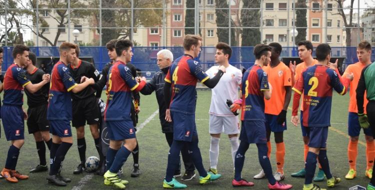 Imatge d'un partit de la temporada passada