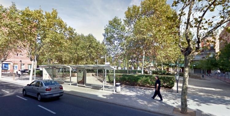 A la plaça Mestre Planas, és un dels punts on s'ha actuat