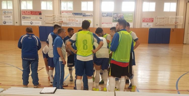 El Natació Sabadell de futbol sala ja està en marxa