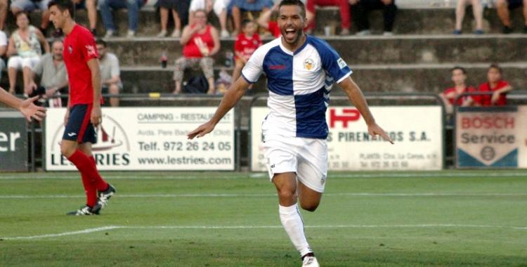 Felipe Sanchón celebrant el seu gol   Sendy Dihor