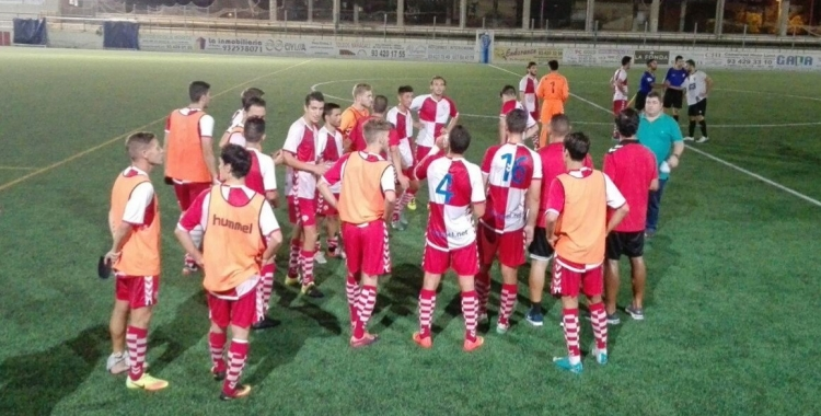 El Sabadell ha quedat eliminat de la Copa Catalunya als penals