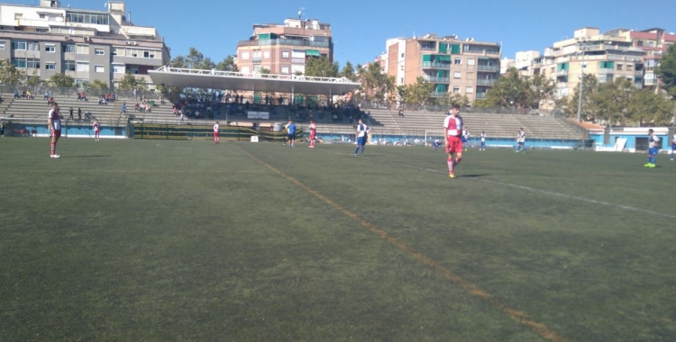 Imatge del partit entre Can Vidalet i CES B | Foto: MA Rodríguez