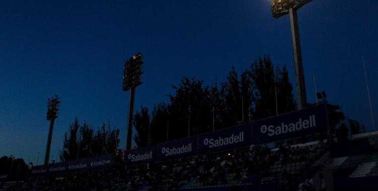 La Nova Creu Alta a les fosques en ple Sabadell-Badalona | Pedro Salado
