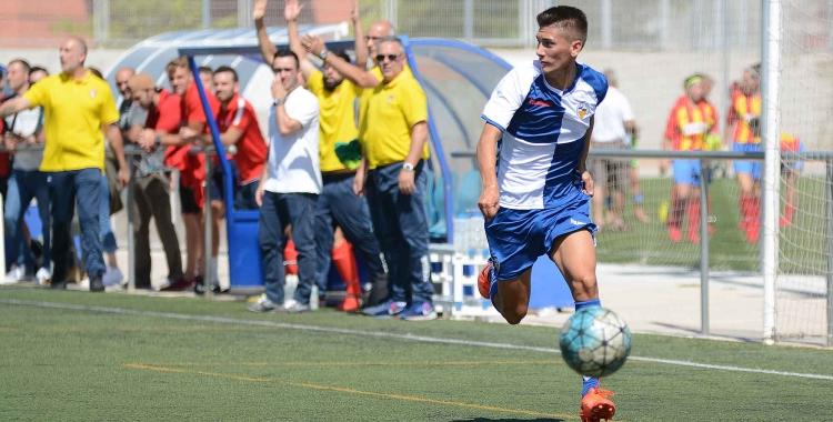 Imatge del partit del Sabadell B contra el San Juan de Montcada | Roger Benet