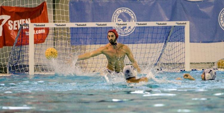 Pepe Motos ha destacat sota pals davant el conjunt croat