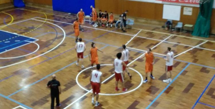 Bàsquet Pia i Sant Nicolau en un partit d'aquesta pretemporada