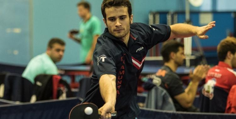 Ferran Brugada, nou jugador del CNS tennis de taula | CNS