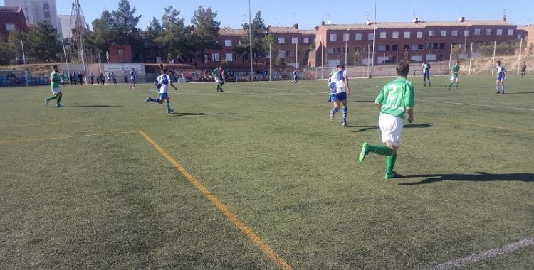 El Sabadell B - Lloret es va jugar a Olímpia