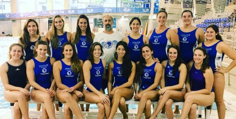 L'equip femení de l'Astralpool debuta demà a la lliga