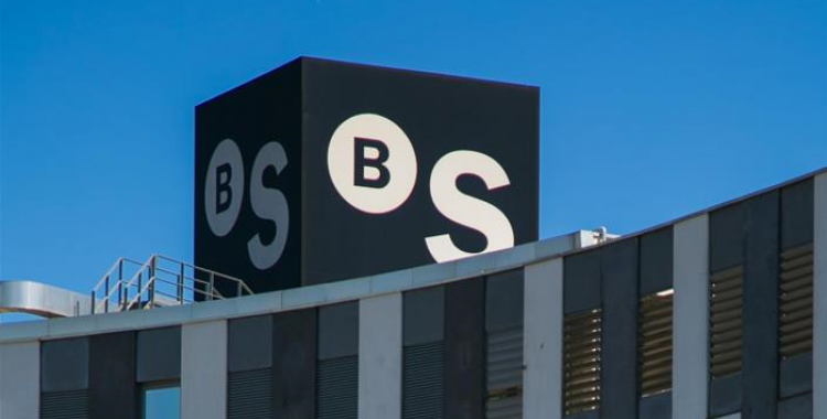 Emblema de Banc Sabadell/ BS