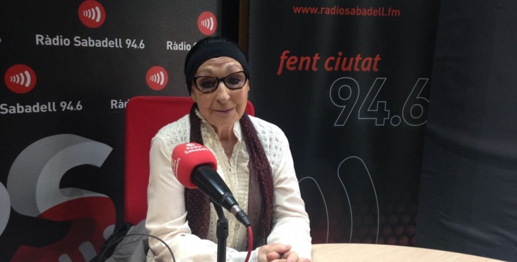 Mirna Lacambra a Ràdio Sabadell | Claudia Martínez