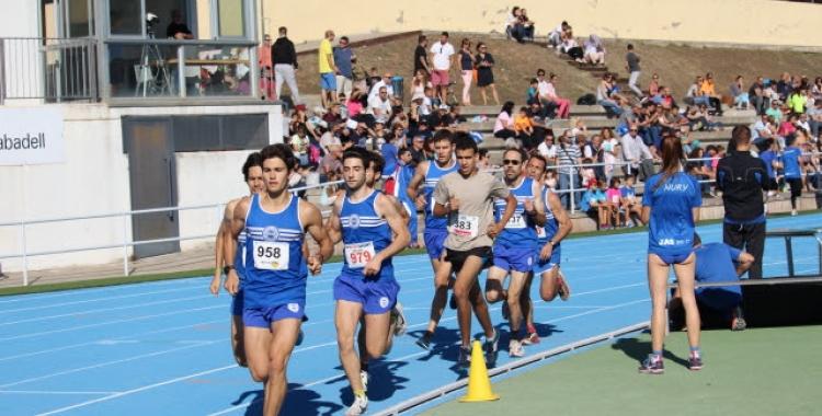 El Josep Molins durant el Campionat de Sabadell disputat el passat 8 d'octubre   J. Amiel