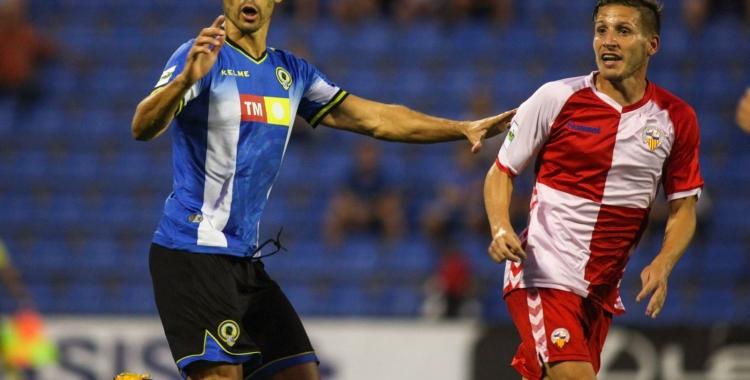 Marc Martínez, baixa pel partit de diumenge a la Nova Creu Alta | Hércules de Alicante FC