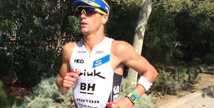 Miquel Blanchar ha acabat quart a l'Ironman de Barcelona