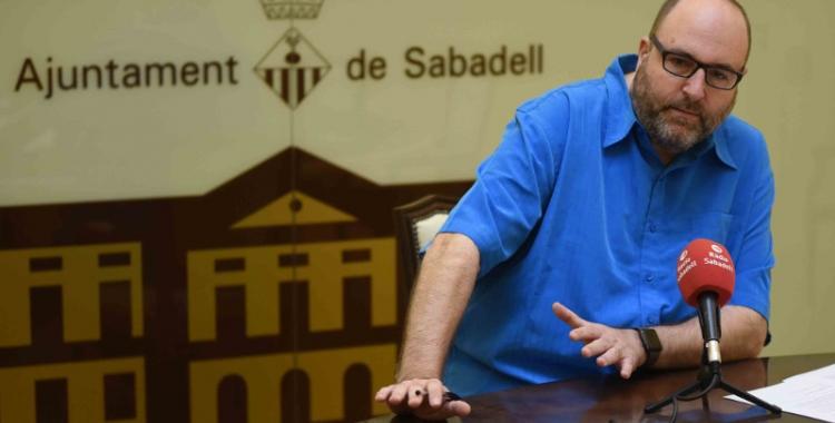Miquel Soler ha presentat avui la nova ordenança de Benestar Animal/ Roger Benet
