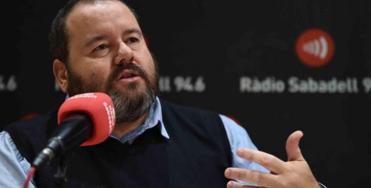 Joan Mena aquest matí a Ràdio Sabadell | Roger Benet