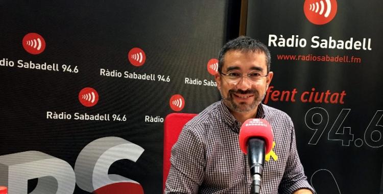 Gabriel Fernández ha carregat contra el govern espanyol/ Mireia Sans