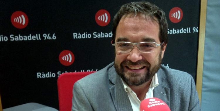 Juli Fernández, en una imatge d'arxiu de Ràdio Sabadell