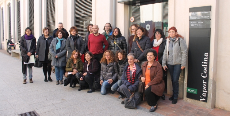 Membres de totes les entitats que han presentat un projecte de servei comunitari.