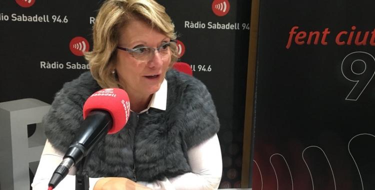 Núria Aymerich, secretària general del Gremi de Fabricants.