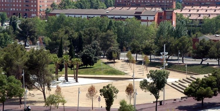 Imatge d'una de les zones urbanitzades del Parc del Nord   Foto: Ajuntament de Sabadell
