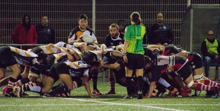 El Sabadell Rugby Club rep el líder de la Divisió d'Honor Catalana